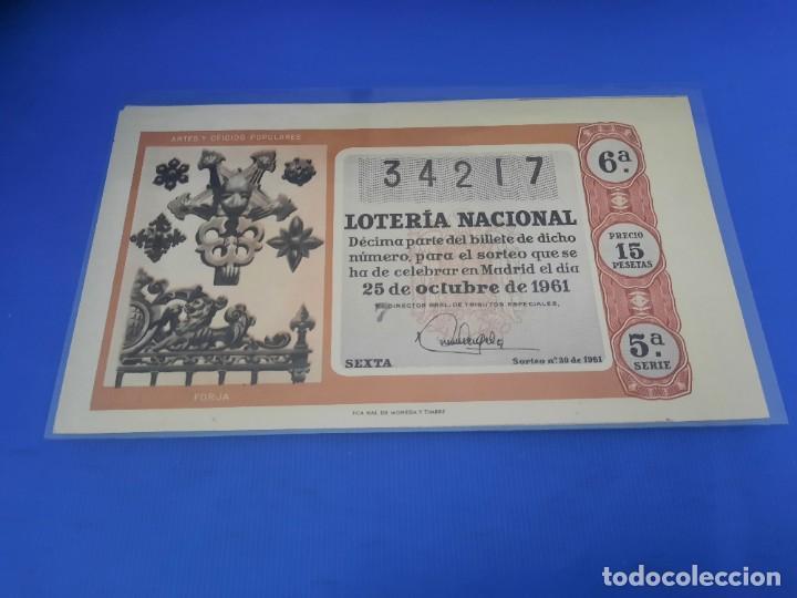 Lotería Nacional: Loteria 1961 año completo - Foto 60 - 262023165