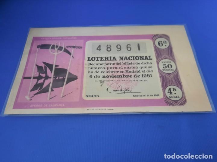 Lotería Nacional: Loteria 1961 año completo - Foto 62 - 262023165