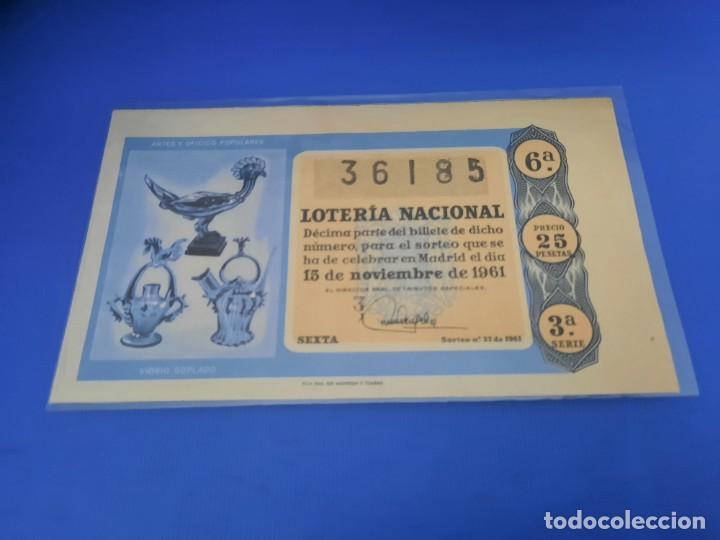 Lotería Nacional: Loteria 1961 año completo - Foto 64 - 262023165