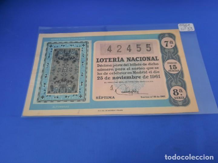 Lotería Nacional: Loteria 1961 año completo - Foto 66 - 262023165