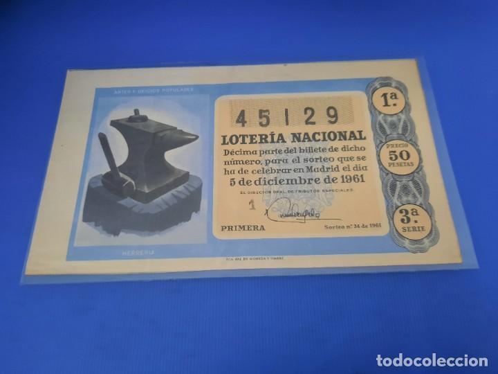 Lotería Nacional: Loteria 1961 año completo - Foto 68 - 262023165