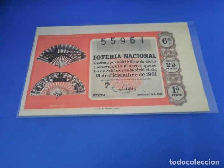 Lotería Nacional: Loteria 1961 año completo - Foto 70 - 262023165
