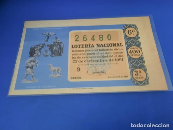 Lotería Nacional: Loteria 1961 año completo - Foto 72 - 262023165