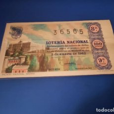 Lotería Nacional: LOTERIA 1962 SORTEO 1. Lote 262140680