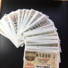 Lotería Nacional: LOTERIA NACIONAL 2004 SORTEO JUEVES COMPLETO - TODOS LOS SORTEOS. Lote 262709300