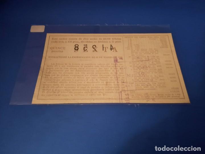 Lotería Nacional: Loteria 1962 sorteo 12 - Foto 2 - 262826545