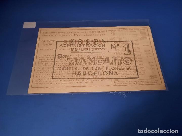 Lotería Nacional: Loteria 1962 sorteo 12 - Foto 2 - 262826615