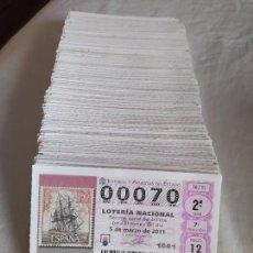 Loterie Nationale: 1000 NÚMEROS DISTINTOS DE LOTERÍA NACIONAL - IDEAL PARA CORRELATIVA -. Lote 263681580