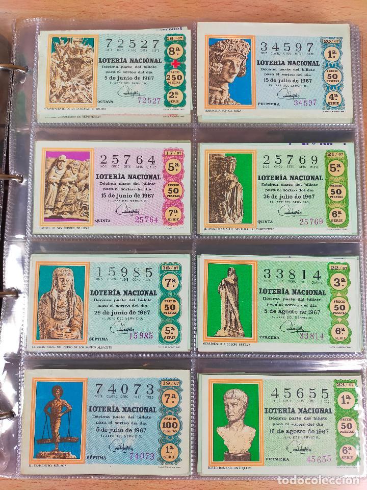 Lotería Nacional: Colección décimos de lotería España años 1967-1990 CAPICUAS Y NUMEROS BAJOS EXCELENTE! - Foto 6 - 265158944
