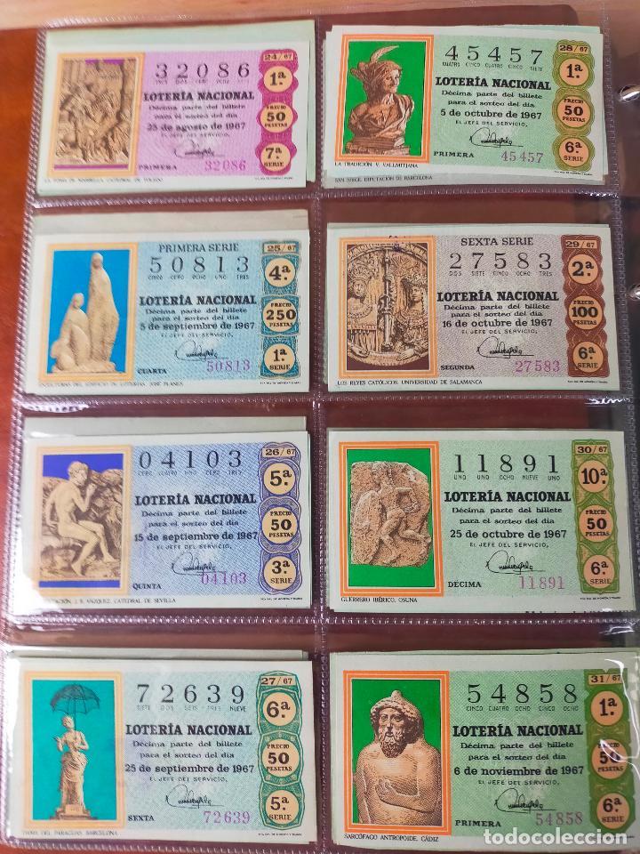 Lotería Nacional: Colección décimos de lotería España años 1967-1990 CAPICUAS Y NUMEROS BAJOS EXCELENTE! - Foto 7 - 265158944