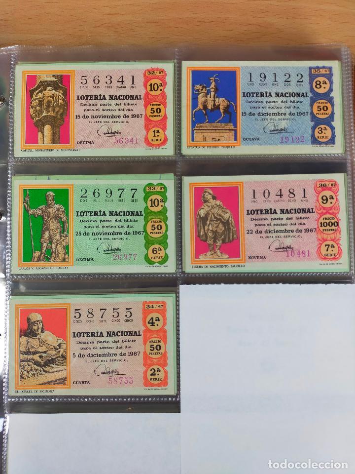 Lotería Nacional: Colección décimos de lotería España años 1967-1990 CAPICUAS Y NUMEROS BAJOS EXCELENTE! - Foto 8 - 265158944