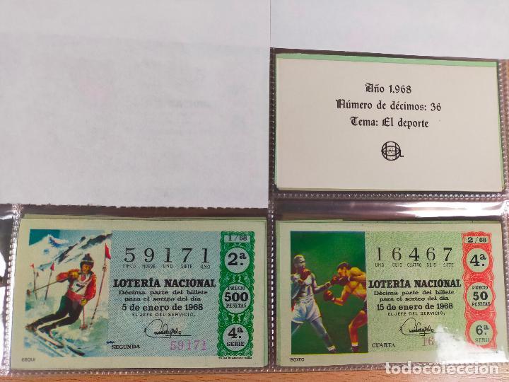 Lotería Nacional: Colección décimos de lotería España años 1967-1990 CAPICUAS Y NUMEROS BAJOS EXCELENTE! - Foto 9 - 265158944
