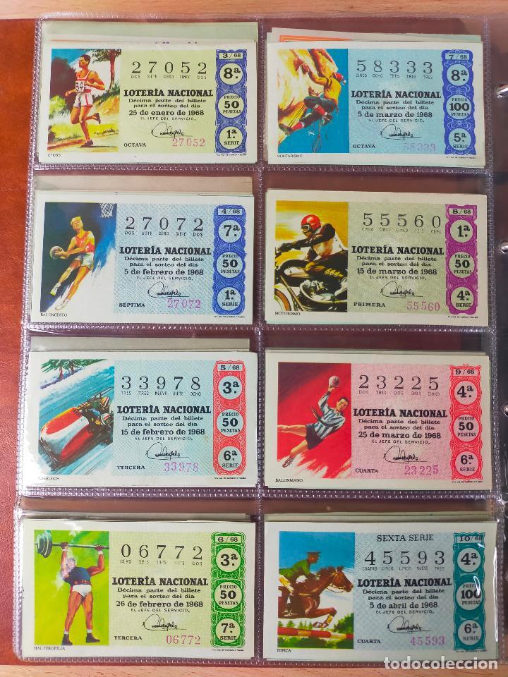 Lotería Nacional: Colección décimos de lotería España años 1967-1990 CAPICUAS Y NUMEROS BAJOS EXCELENTE! - Foto 10 - 265158944