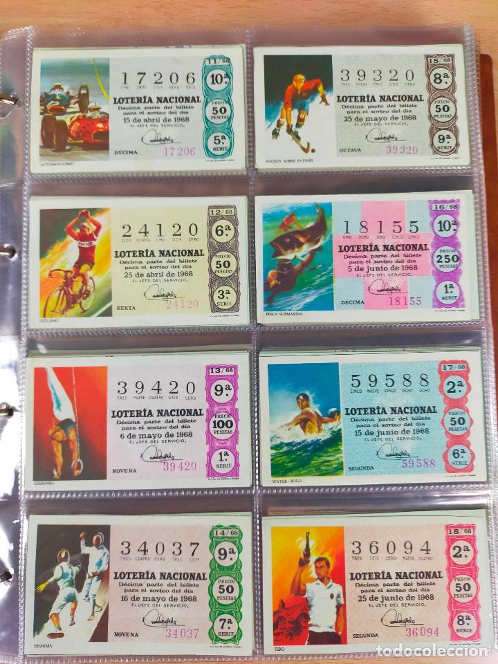 Lotería Nacional: Colección décimos de lotería España años 1967-1990 CAPICUAS Y NUMEROS BAJOS EXCELENTE! - Foto 11 - 265158944