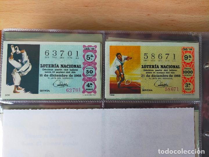 Lotería Nacional: Colección décimos de lotería España años 1967-1990 CAPICUAS Y NUMEROS BAJOS EXCELENTE! - Foto 14 - 265158944