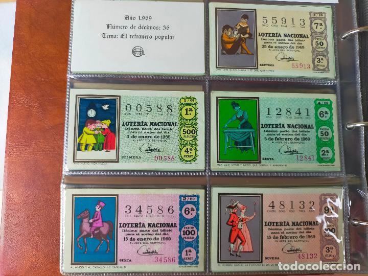 Lotería Nacional: Colección décimos de lotería España años 1967-1990 CAPICUAS Y NUMEROS BAJOS EXCELENTE! - Foto 15 - 265158944