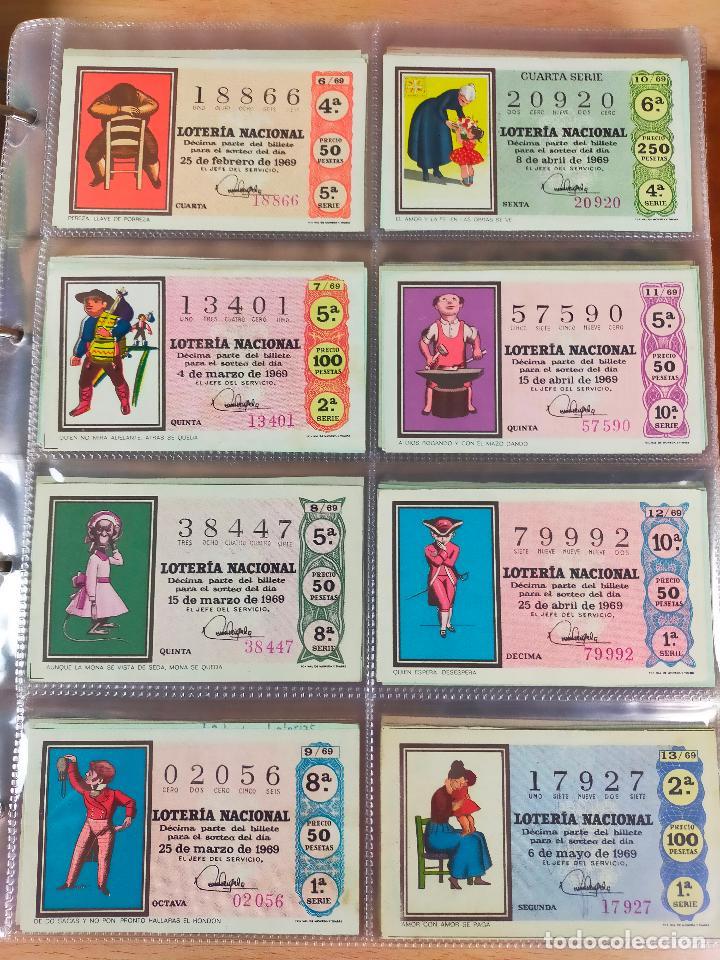 Lotería Nacional: Colección décimos de lotería España años 1967-1990 CAPICUAS Y NUMEROS BAJOS EXCELENTE! - Foto 16 - 265158944