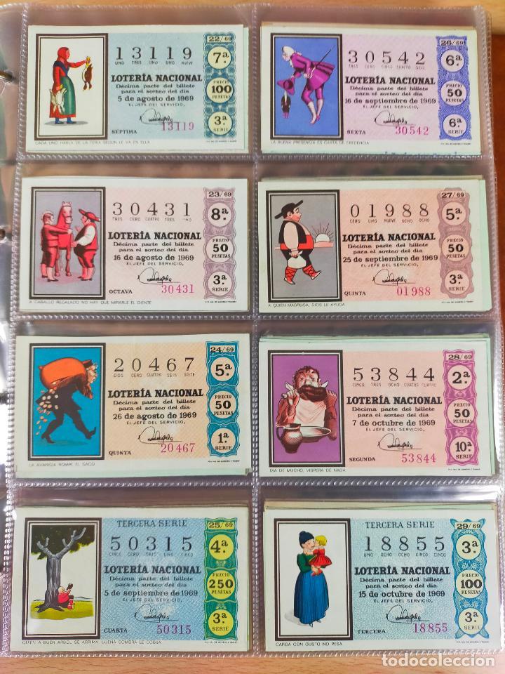Lotería Nacional: Colección décimos de lotería España años 1967-1990 CAPICUAS Y NUMEROS BAJOS EXCELENTE! - Foto 18 - 265158944