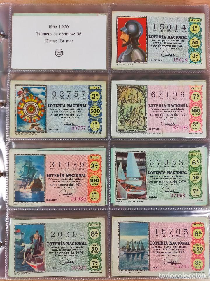 Lotería Nacional: Colección décimos de lotería España años 1967-1990 CAPICUAS Y NUMEROS BAJOS EXCELENTE! - Foto 20 - 265158944