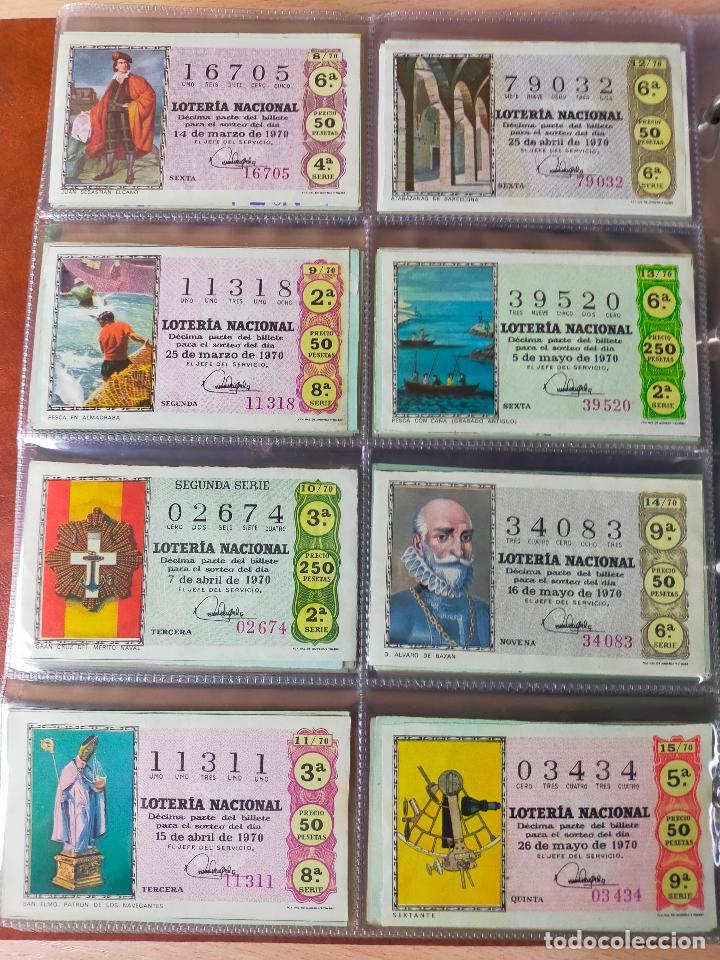 Lotería Nacional: Colección décimos de lotería España años 1967-1990 CAPICUAS Y NUMEROS BAJOS EXCELENTE! - Foto 21 - 265158944