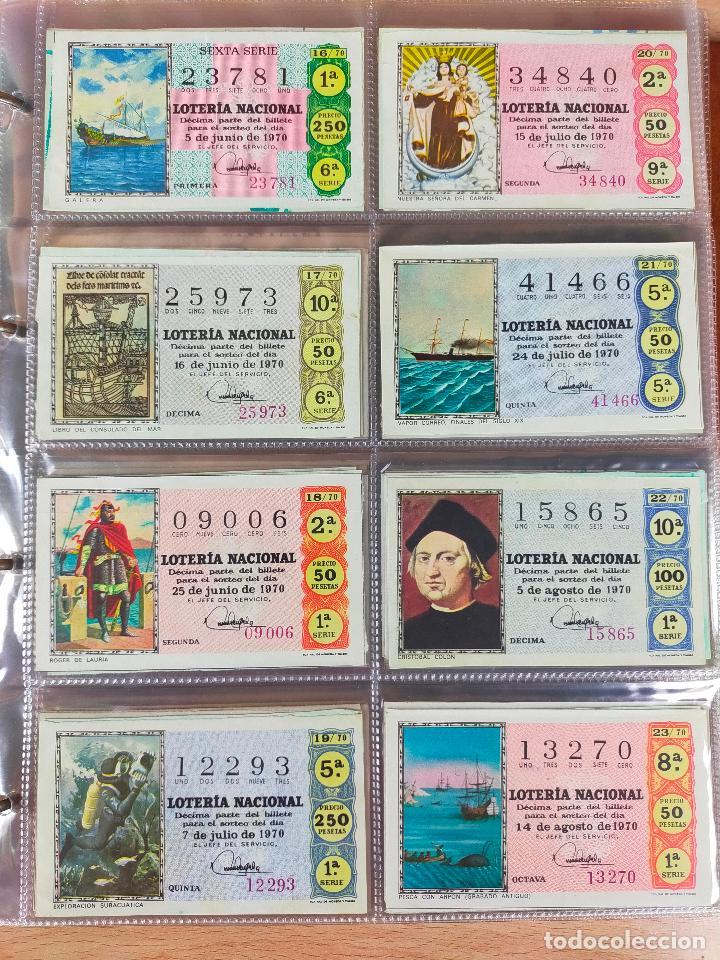 Lotería Nacional: Colección décimos de lotería España años 1967-1990 CAPICUAS Y NUMEROS BAJOS EXCELENTE! - Foto 22 - 265158944