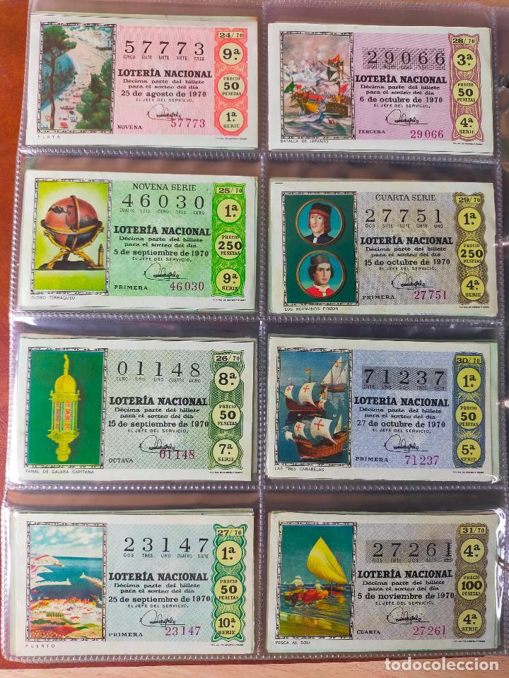 Lotería Nacional: Colección décimos de lotería España años 1967-1990 CAPICUAS Y NUMEROS BAJOS EXCELENTE! - Foto 23 - 265158944