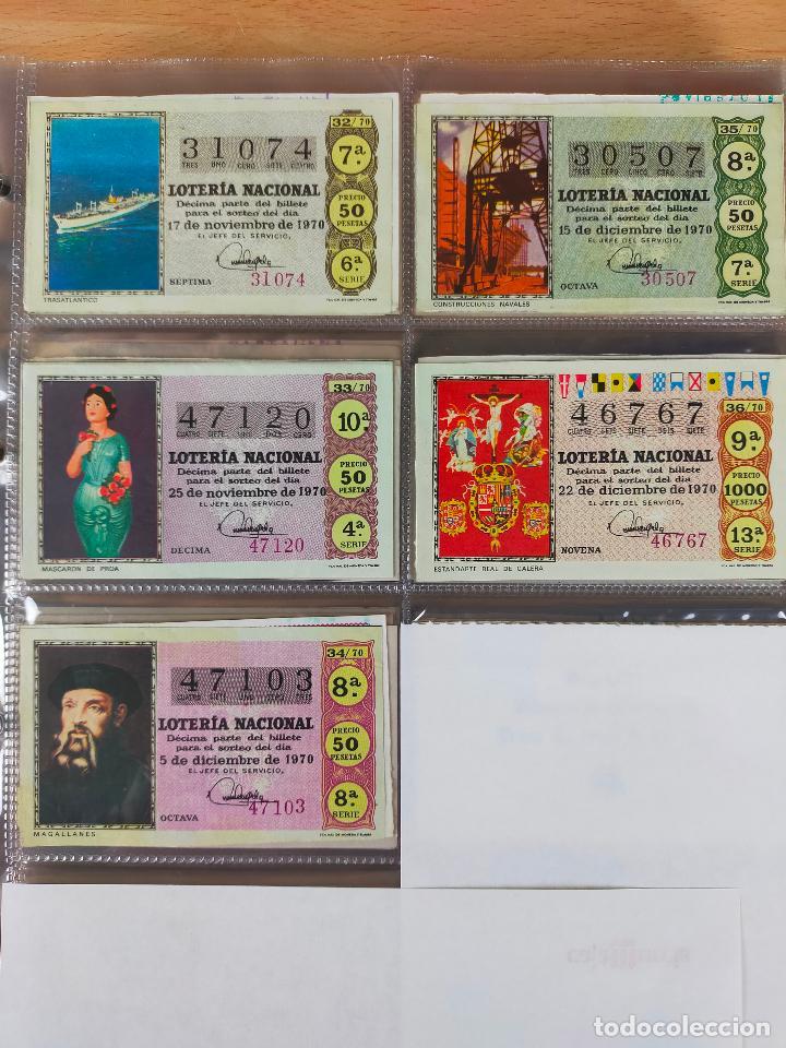 Lotería Nacional: Colección décimos de lotería España años 1967-1990 CAPICUAS Y NUMEROS BAJOS EXCELENTE! - Foto 24 - 265158944