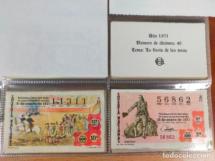 Lotería Nacional: Colección décimos de lotería España años 1967-1990 CAPICUAS Y NUMEROS BAJOS EXCELENTE! - Foto 25 - 265158944