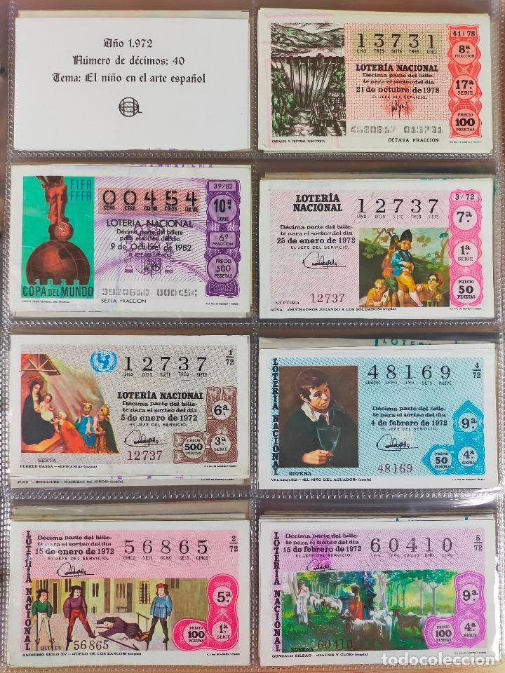 Lotería Nacional: Colección décimos de lotería España años 1967-1990 CAPICUAS Y NUMEROS BAJOS EXCELENTE! - Foto 31 - 265158944