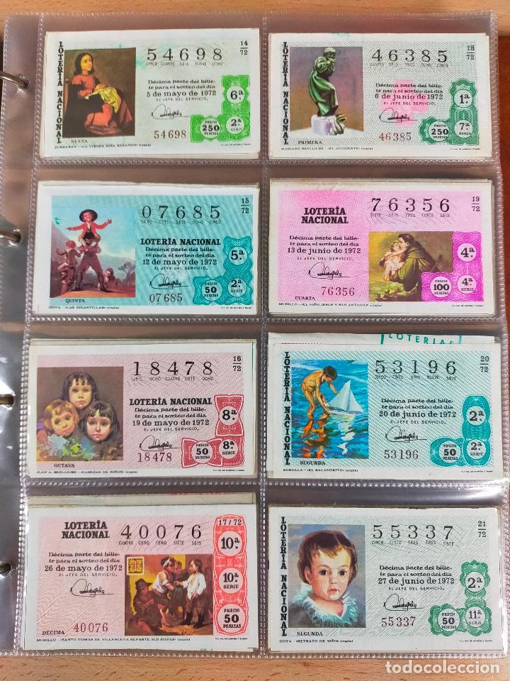 Lotería Nacional: Colección décimos de lotería España años 1967-1990 CAPICUAS Y NUMEROS BAJOS EXCELENTE! - Foto 32 - 265158944