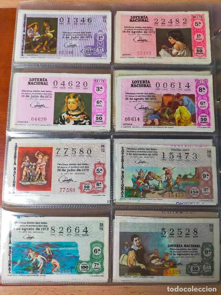 Lotería Nacional: Colección décimos de lotería España años 1967-1990 CAPICUAS Y NUMEROS BAJOS EXCELENTE! - Foto 33 - 265158944