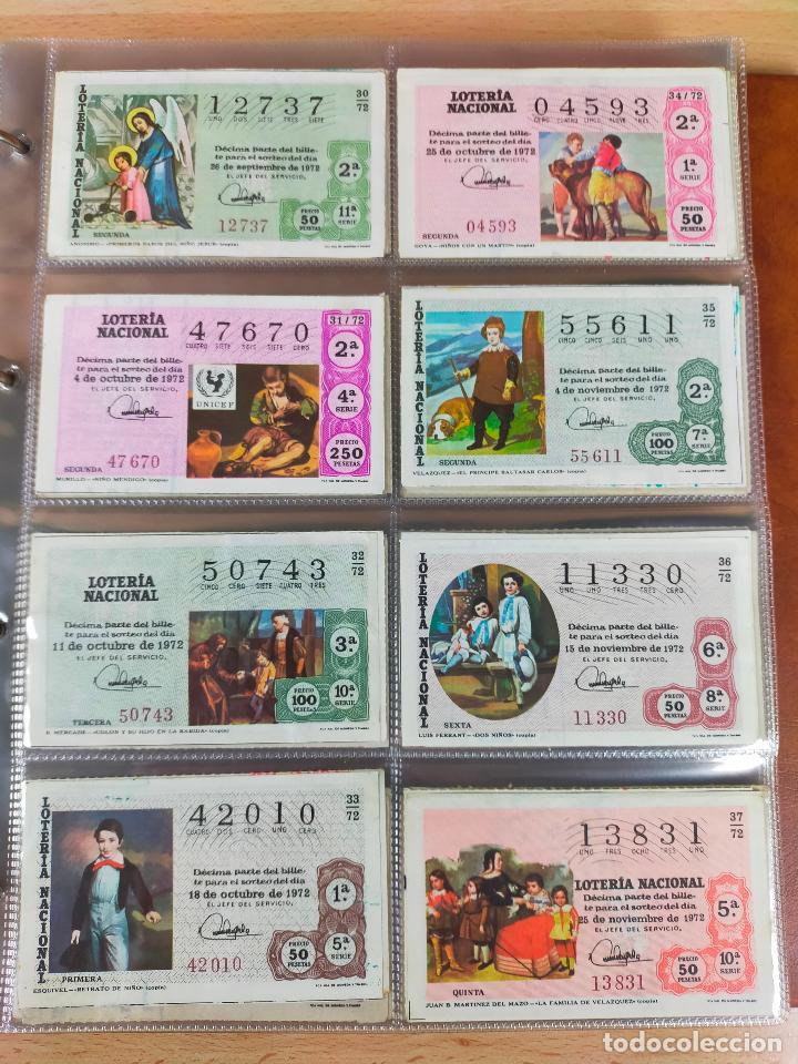 Lotería Nacional: Colección décimos de lotería España años 1967-1990 CAPICUAS Y NUMEROS BAJOS EXCELENTE! - Foto 34 - 265158944