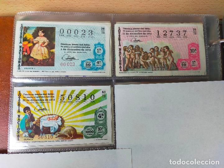 Lotería Nacional: Colección décimos de lotería España años 1967-1990 CAPICUAS Y NUMEROS BAJOS EXCELENTE! - Foto 35 - 265158944