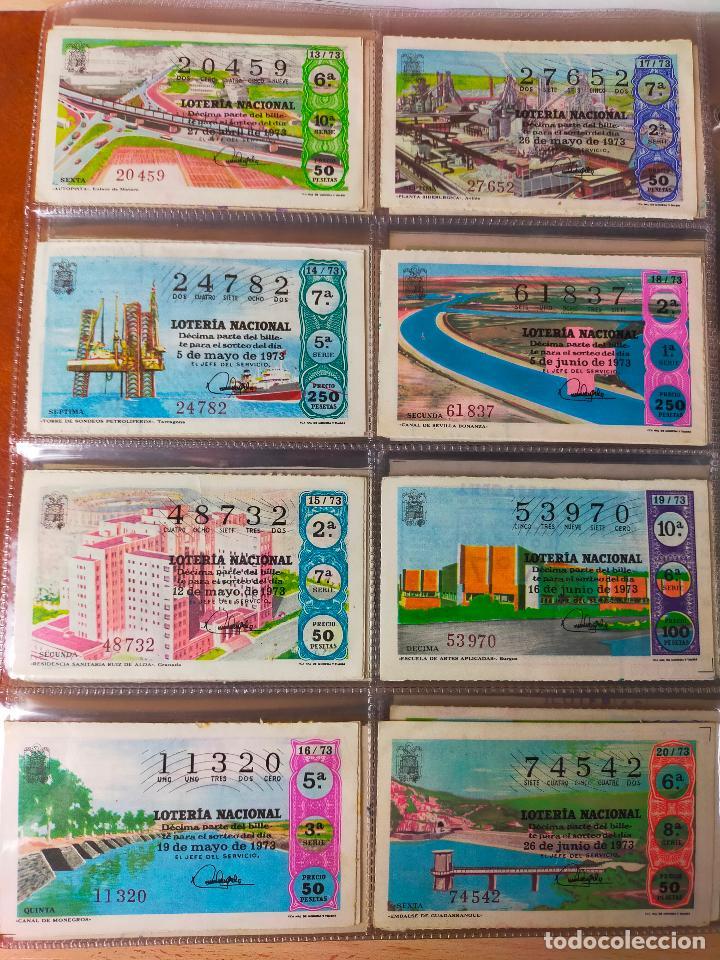 Lotería Nacional: Colección décimos de lotería España años 1967-1990 CAPICUAS Y NUMEROS BAJOS EXCELENTE! - Foto 38 - 265158944