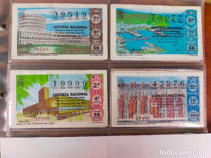 Lotería Nacional: Colección décimos de lotería España años 1967-1990 CAPICUAS Y NUMEROS BAJOS EXCELENTE! - Foto 41 - 265158944