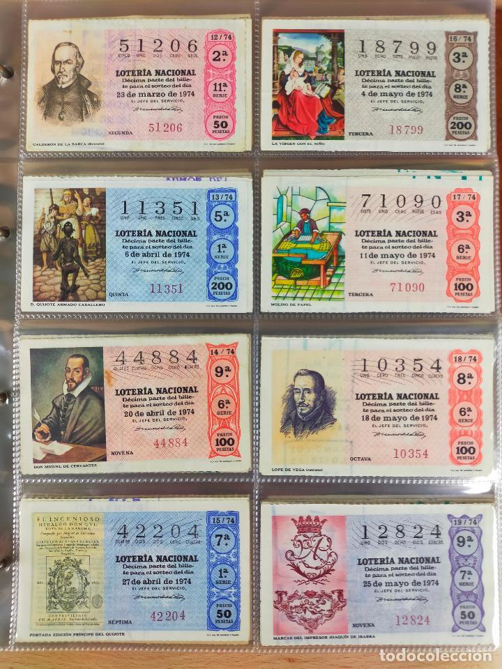 Lotería Nacional: Colección décimos de lotería España años 1967-1990 CAPICUAS Y NUMEROS BAJOS EXCELENTE! - Foto 44 - 265158944