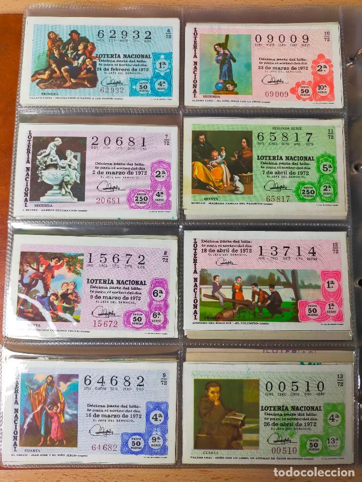 Lotería Nacional: Colección décimos de lotería España años 1967-1990 CAPICUAS Y NUMEROS BAJOS EXCELENTE! - Foto 45 - 265158944