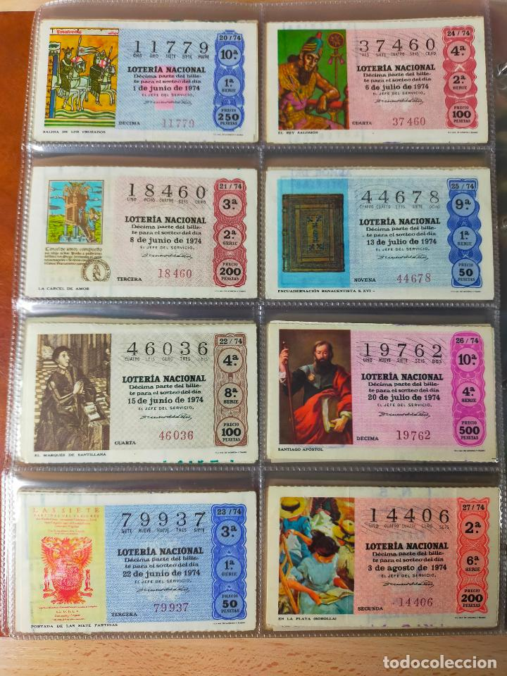 Lotería Nacional: Colección décimos de lotería España años 1967-1990 CAPICUAS Y NUMEROS BAJOS EXCELENTE! - Foto 46 - 265158944