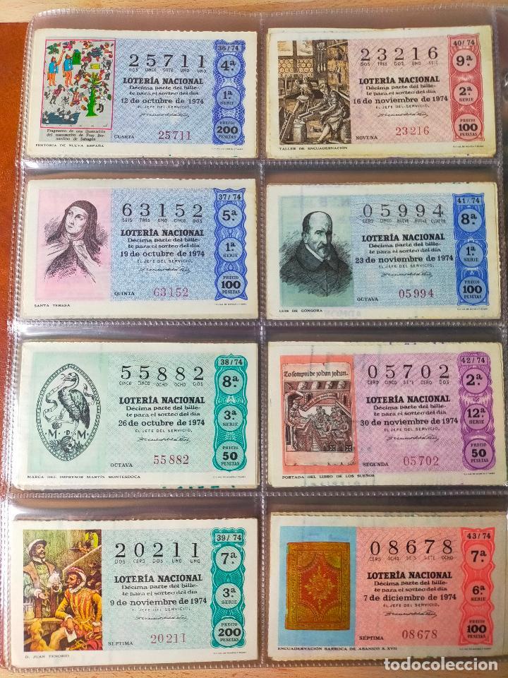 Lotería Nacional: Colección décimos de lotería España años 1967-1990 CAPICUAS Y NUMEROS BAJOS EXCELENTE! - Foto 48 - 265158944
