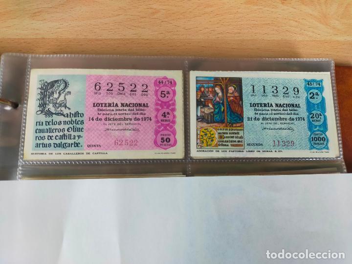 Lotería Nacional: Colección décimos de lotería España años 1967-1990 CAPICUAS Y NUMEROS BAJOS EXCELENTE! - Foto 49 - 265158944
