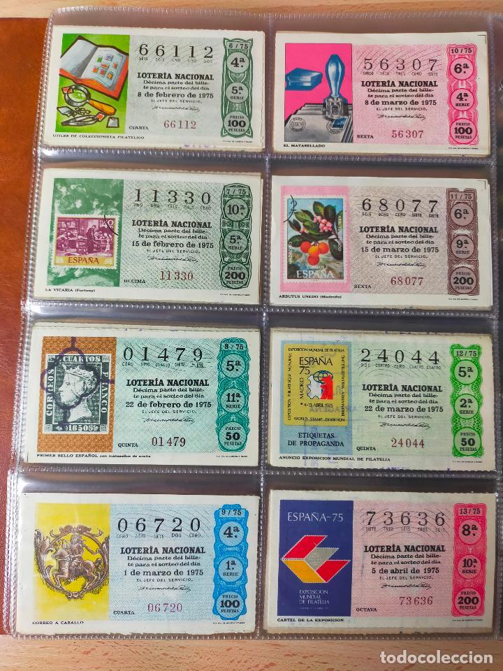 Lotería Nacional: Colección décimos de lotería España años 1967-1990 CAPICUAS Y NUMEROS BAJOS EXCELENTE! - Foto 51 - 265158944