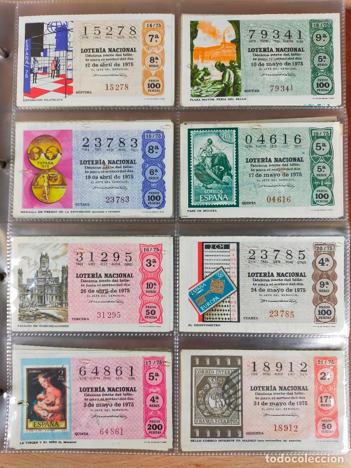 Lotería Nacional: Colección décimos de lotería España años 1967-1990 CAPICUAS Y NUMEROS BAJOS EXCELENTE! - Foto 52 - 265158944
