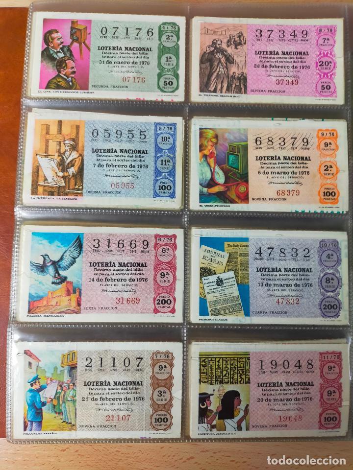 Lotería Nacional: Colección décimos de lotería España años 1967-1990 CAPICUAS Y NUMEROS BAJOS EXCELENTE! - Foto 58 - 265158944