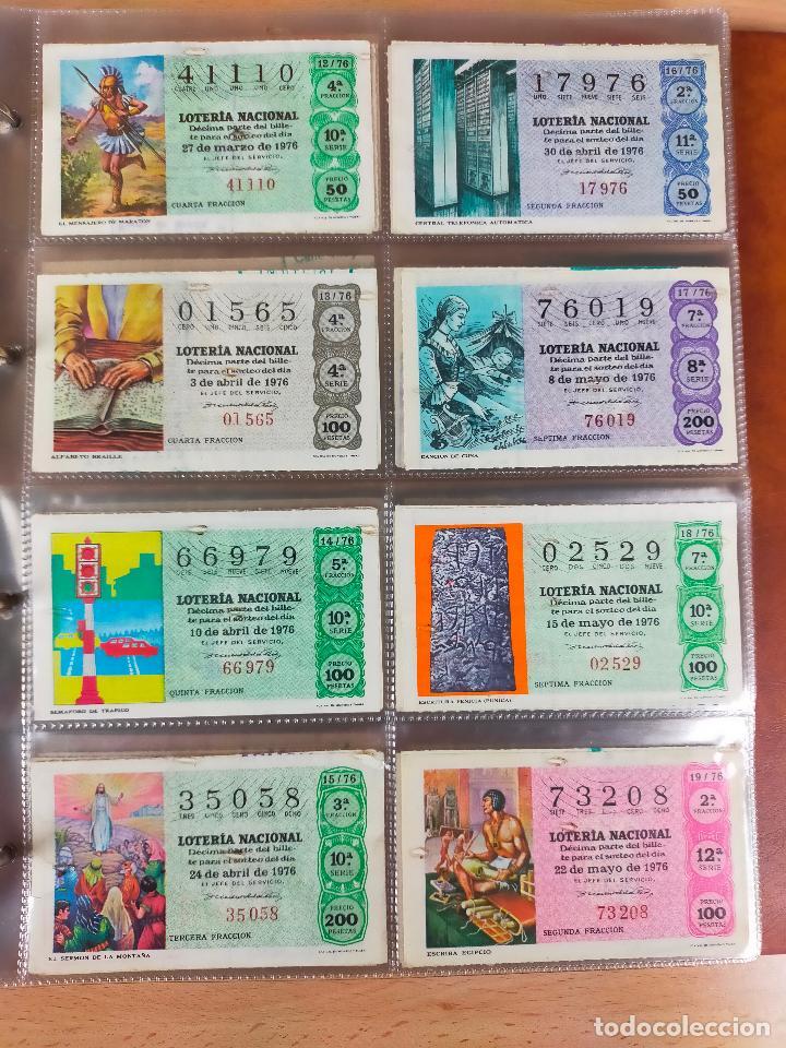 Lotería Nacional: Colección décimos de lotería España años 1967-1990 CAPICUAS Y NUMEROS BAJOS EXCELENTE! - Foto 59 - 265158944