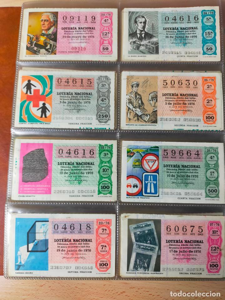Lotería Nacional: Colección décimos de lotería España años 1967-1990 CAPICUAS Y NUMEROS BAJOS EXCELENTE! - Foto 60 - 265158944
