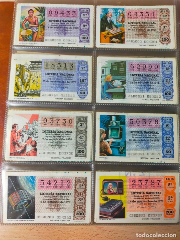 Lotería Nacional: Colección décimos de lotería España años 1967-1990 CAPICUAS Y NUMEROS BAJOS EXCELENTE! - Foto 62 - 265158944