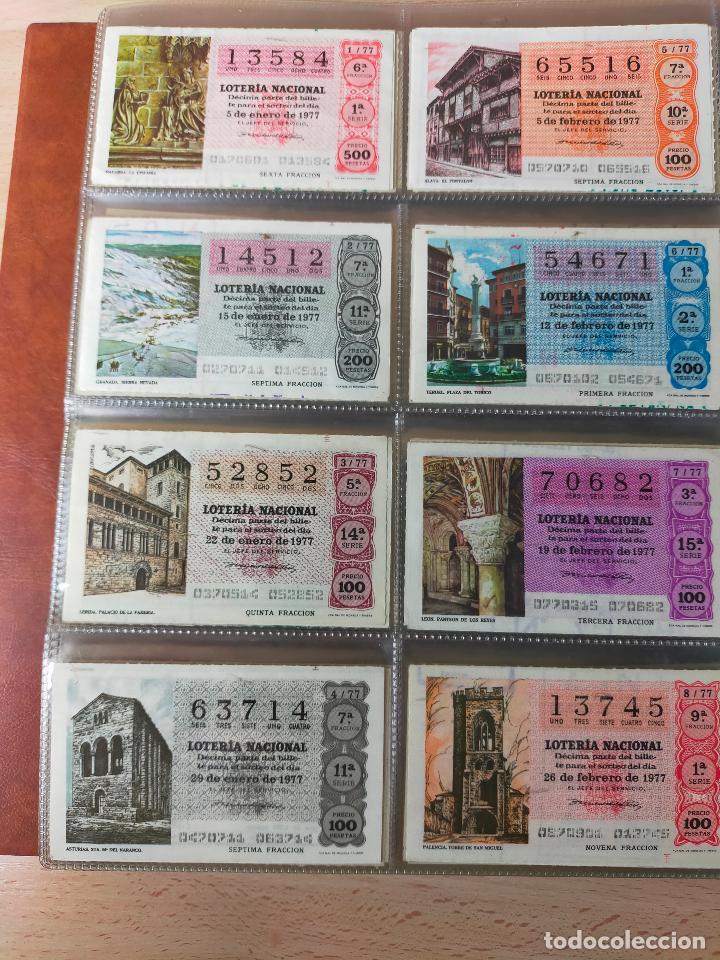 Lotería Nacional: Colección décimos de lotería España años 1967-1990 CAPICUAS Y NUMEROS BAJOS EXCELENTE! - Foto 65 - 265158944