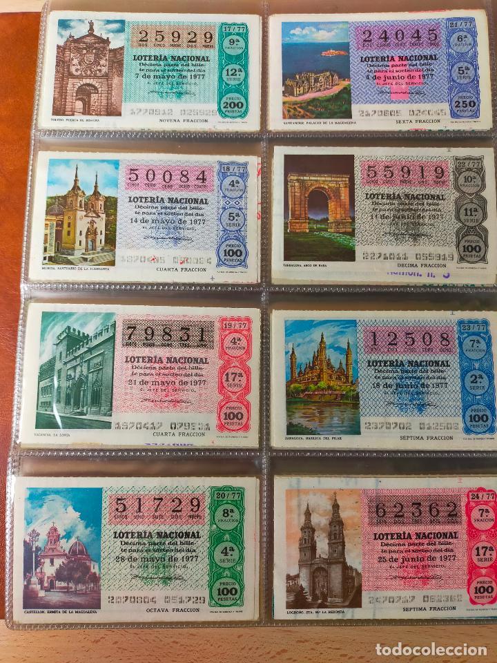 Lotería Nacional: Colección décimos de lotería España años 1967-1990 CAPICUAS Y NUMEROS BAJOS EXCELENTE! - Foto 67 - 265158944