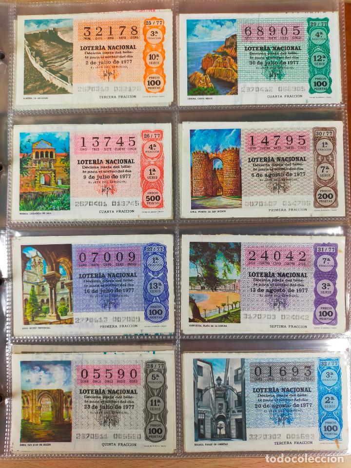 Lotería Nacional: Colección décimos de lotería España años 1967-1990 CAPICUAS Y NUMEROS BAJOS EXCELENTE! - Foto 68 - 265158944