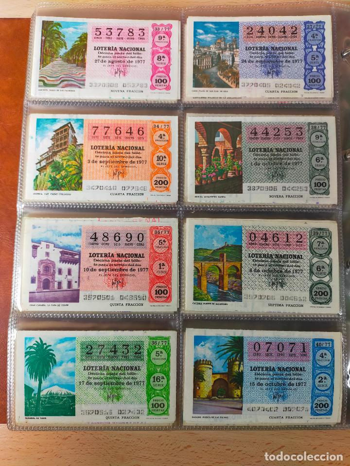 Lotería Nacional: Colección décimos de lotería España años 1967-1990 CAPICUAS Y NUMEROS BAJOS EXCELENTE! - Foto 69 - 265158944